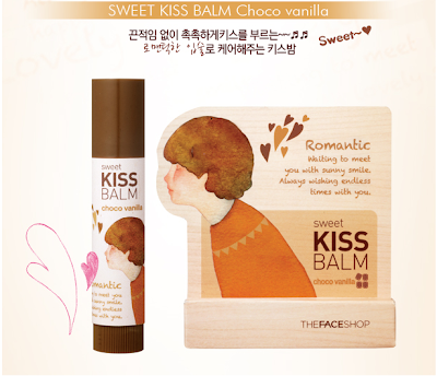 Faceshop Sweet Kiss Balm - Choco vanilla