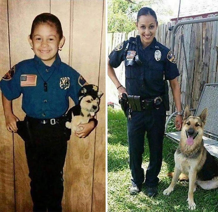 30 Beautiful Recreations Of Childhood Pictures - When I Grow Up