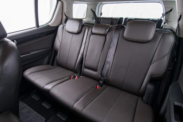 Novo Chevrolet Trailblazer 2017 - espaço traseiro