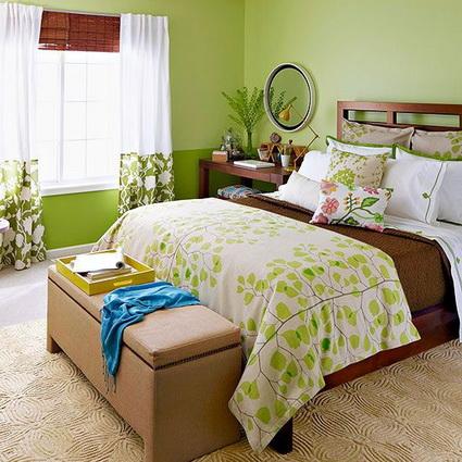 Best Bedrooms in Green Color Scheme 3
