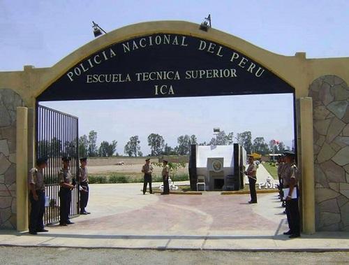 Escuela Técnico Superior PNP - ETS Ica
