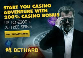 Bethard Casino Screen