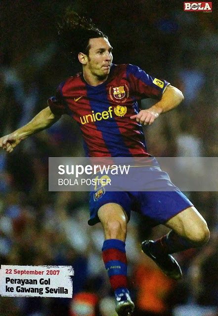 Lionel Messi Barcelona 2007