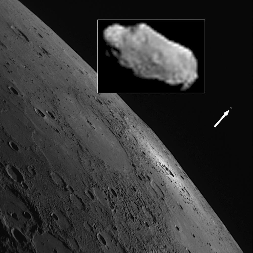 Hermeology: New Moon Discovered Orbiting Mercury