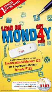 Sun Broadband Monday 125