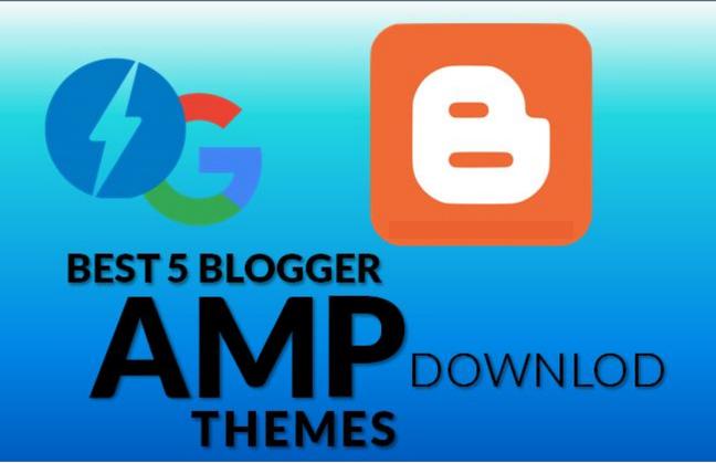 Top 5 Premium AMP Blogger Template 2019