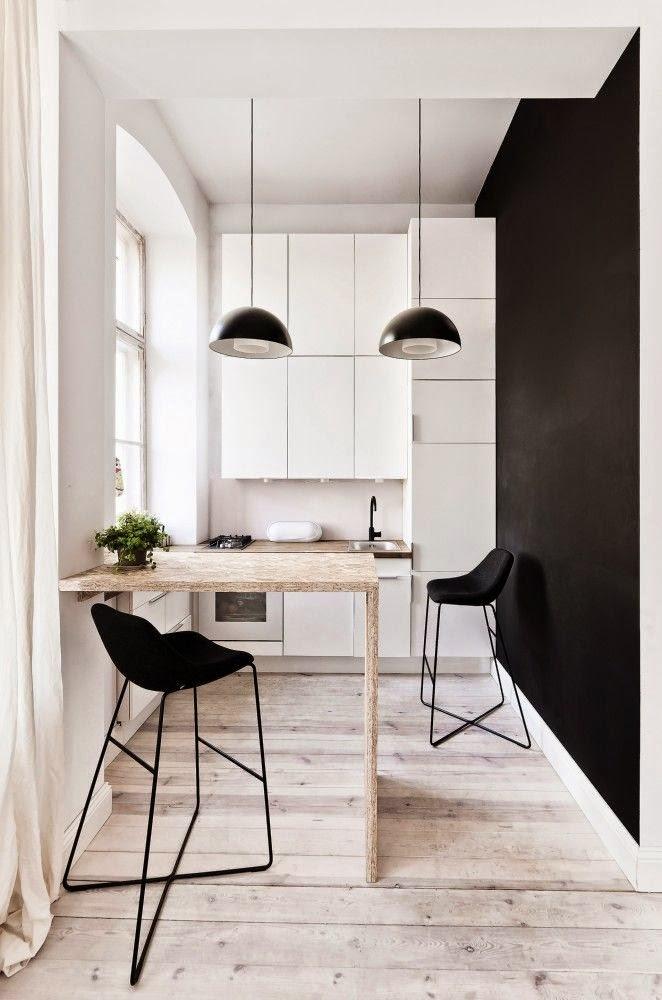 Cocinas Pequenas Con Muebles Blancos.50 Fotos De Cocinas Modernas Pequenas Llenas De Inspiracion