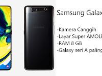 Spesifikasi Kamera Canggih Samsung Galaxy A80 Yang Hadir Dengan Teknologi Rotating Camera
