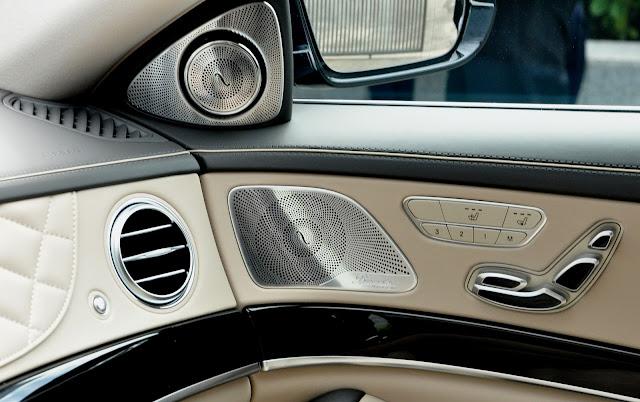 Mercedes Maybach S500 sử dụng Loa Burmester 24 loa