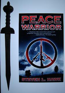 Portada del libro Peace Warrior, de Steven L. Hawk