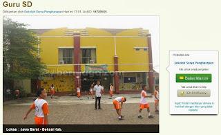 Lowongan Kerja Guru Di Cikarang 2013 Lowongan Pekerjaan Di Webite Bursa Kerja Depnaker Ada Sekolah Kristen Di Cibarusah Tepatnya Di Perum Bekasi Jaya Ruko