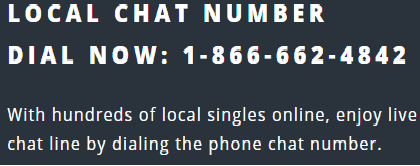 Free phone local chat lines