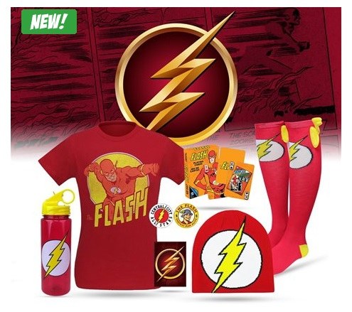 "30 Gifts for ""The Flash"" Lover in Your Life Dc Comics Hero Mystery Box Superhero stuff"