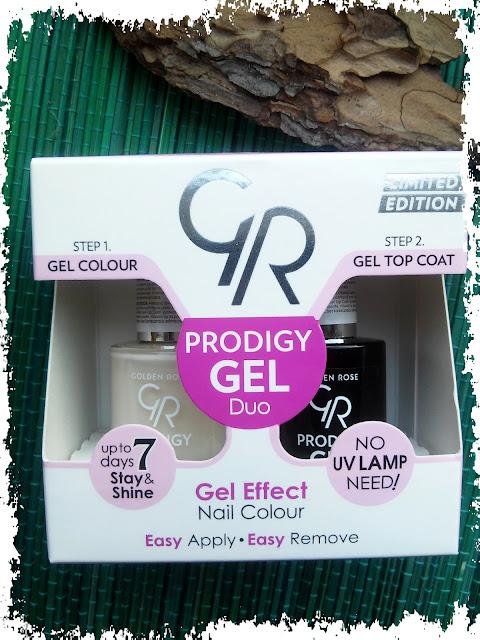Golden Rose, Prodigy Gel Duo, Podwójny żel do paznokci