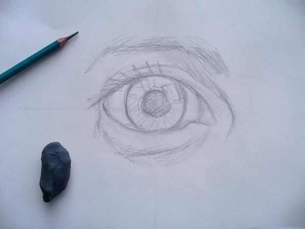 El Arte De Dibujar Es Pintar Sin Borrar