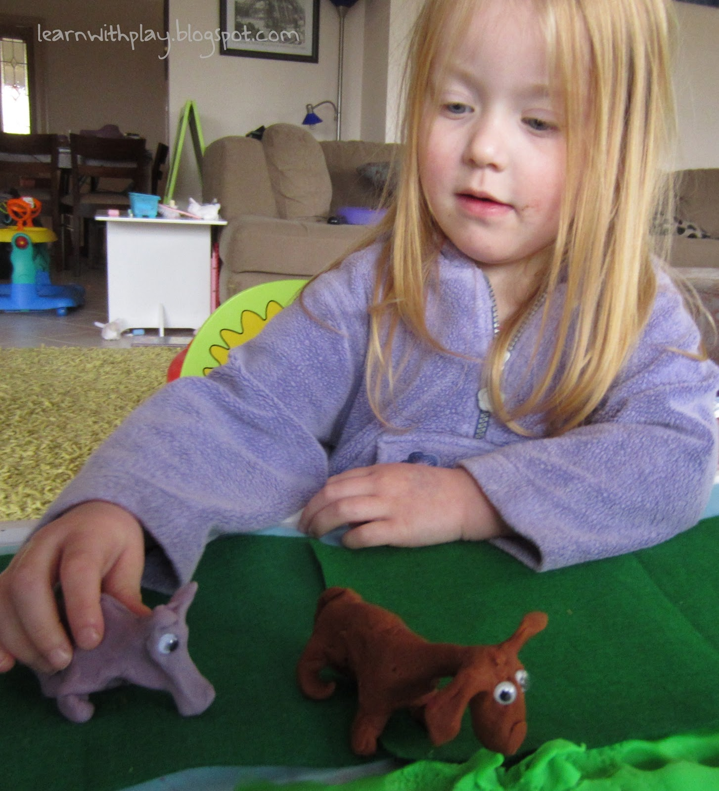 Learn With Play At Home Re Tell The Story With Play Dough