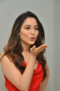 Tamannaah At Nextenti Movie Trailer Launch Event