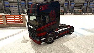 Paintable Griffin for Scania R & Streamline
