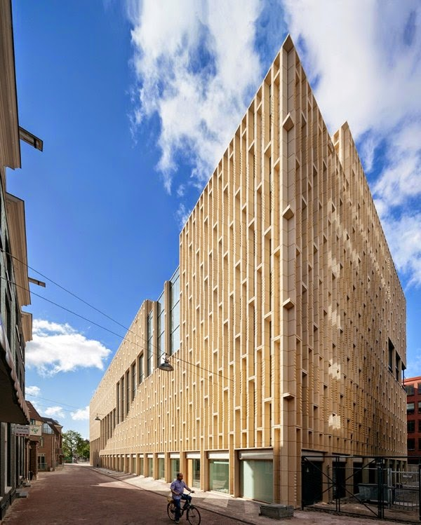 Four The Best Building: The Style Examiner: Culture House Rozet Crowned Best Dutch