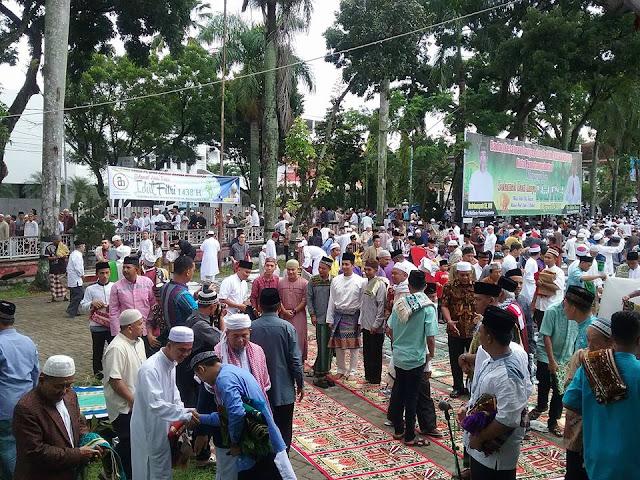 #Video - Persiapan Sholat IDUL FITRI di Lapangan H. ADAM MALIK Pematangsiantar
