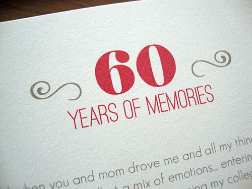Libbie Grove Design 60th Birthday Party (and Free Printable)