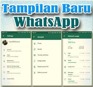 Update WhatsApp Di Android Hadirkan Desain Baru Halaman Pengaturan