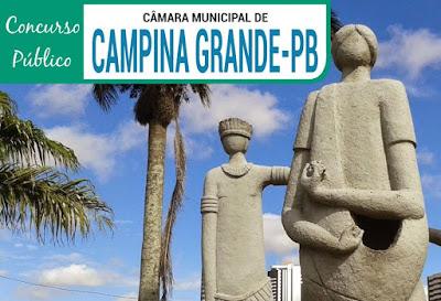 Apostilas CMCG-PB 2019 - Conteúdo Concurso Câmara Municipal de Campina Grande PB 2018.