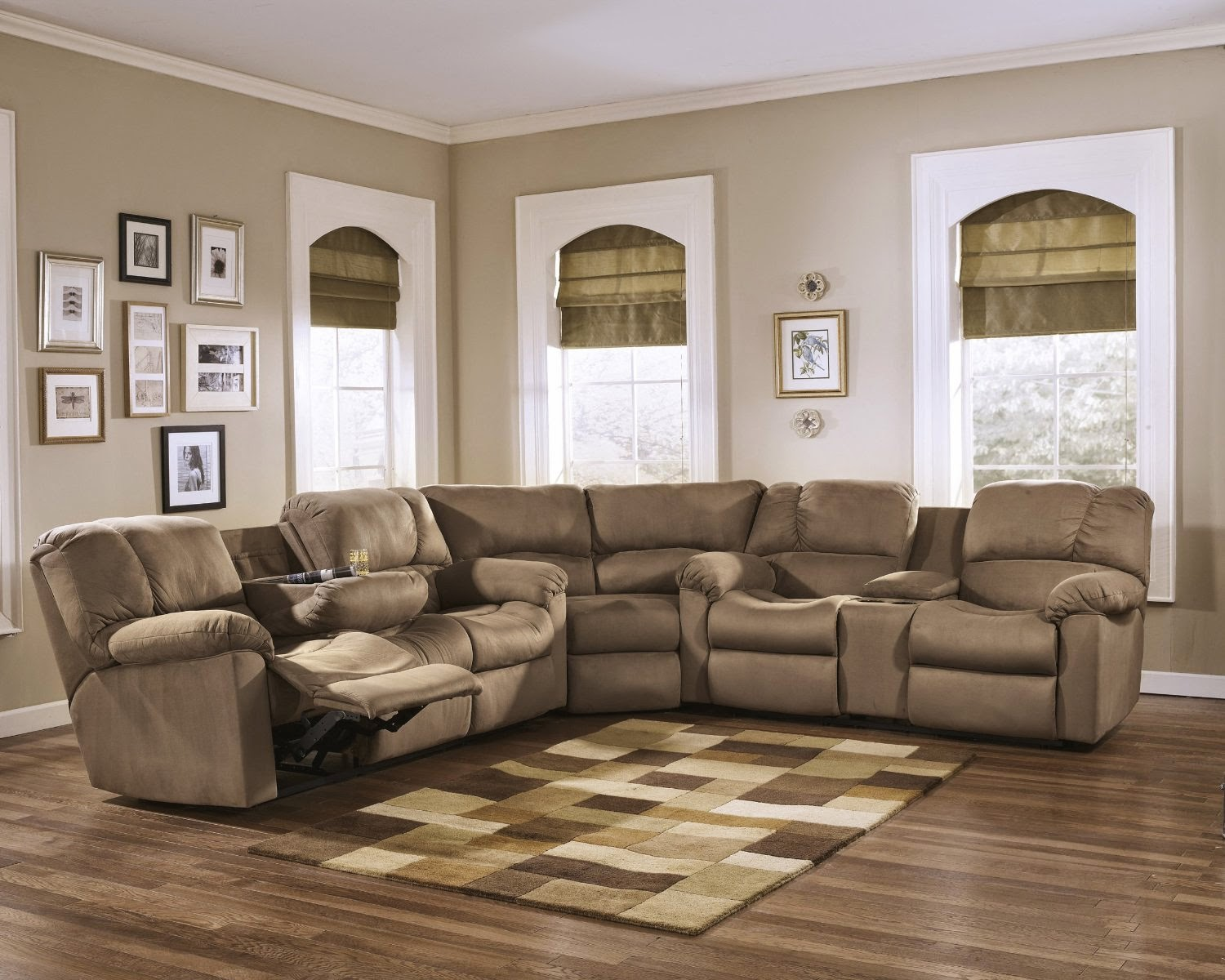 The Best Reclining Sofas Reviews: Reclining Sectional