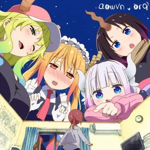 Miss Kobayashis Dragon Maid Ishukan aowvn - The Maid Dragon of Kobayashi | Manga Online