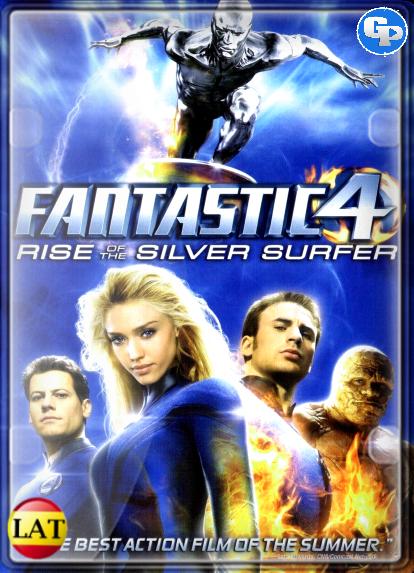 Los 4 fantásticos y Silver Surfer (2007) LATINO