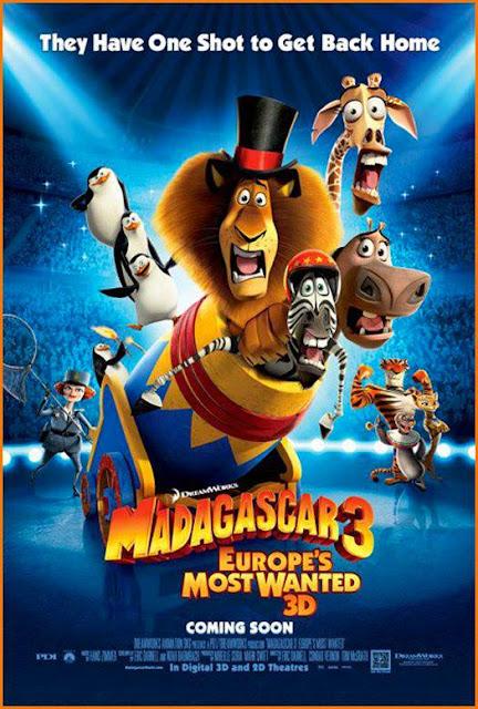 Οι φυγάδες τις Ευρώπης / Magadascar 3:Europes most wanted (2012) ταινιες online seires oipeirates greek subs