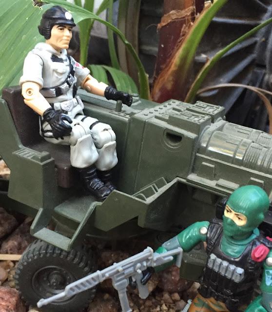 1986 Mainframe, 1985 Flint, Mauler, Bazooka, Snake Eyes, TTBP, Dial Tone, Sci Fi, Beach Head, HAL