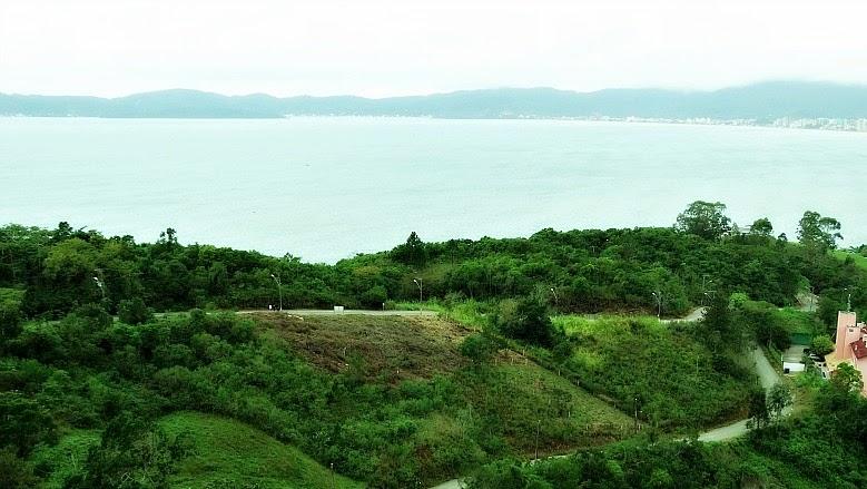 Vista do mirante para a Praia do Costão, Itapema