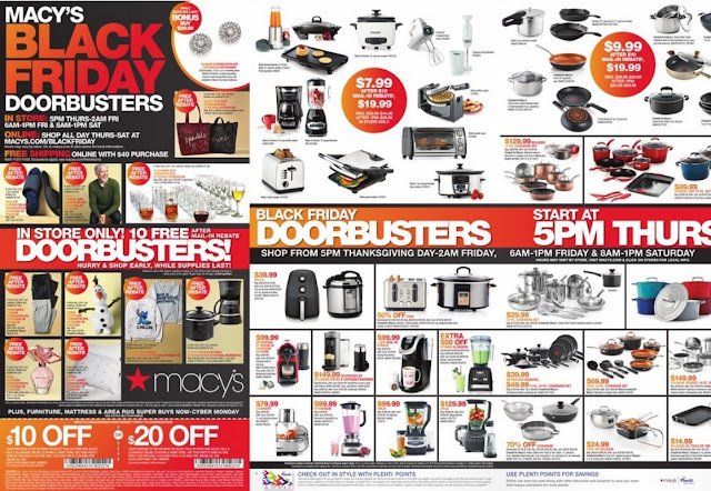 Macy's Black Friday Ad Circular 2017