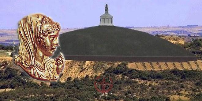 Αμφίπολη :Ο Τύμβος της Ολυμπιάδος μητρός Αλεξάνδρου του Μέγα .