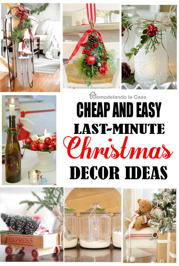 lots of economical ideas for Christmas decor, toys, table toppers, candles, luminaries,