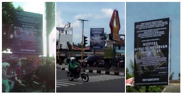 Allhamdulilah Akhirnya Baliho Penistaan Agama Islam Di Yogyakarta Diturunkan