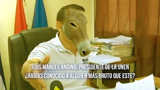 Luis Manuel Andino El Presidente De La Unen
