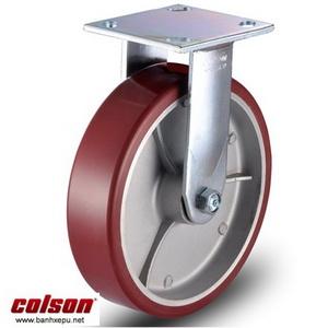 Bánh xe PU càng cố định 8 inch Colson Mỹ chịu lực 680kg | 6-8278-939 banhxepu.net
