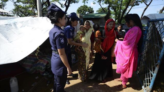 ONU: Soldados birmanos cometen violaciones grupales a rohingyas