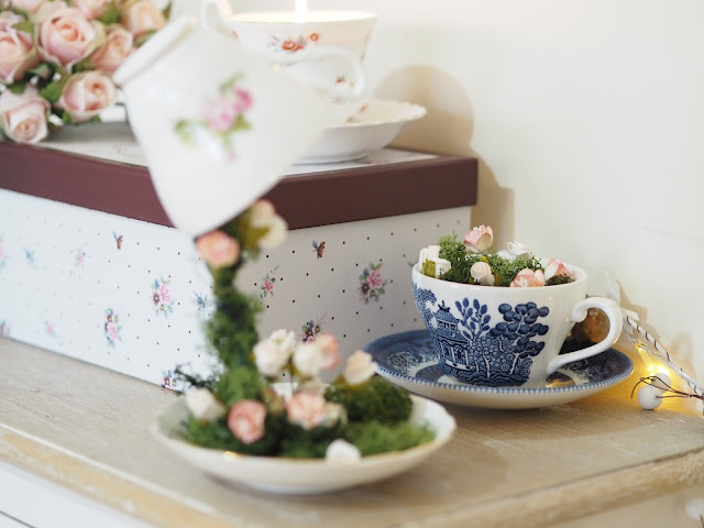 Video Floating Tea Cup Tutorial Updated The Dainty