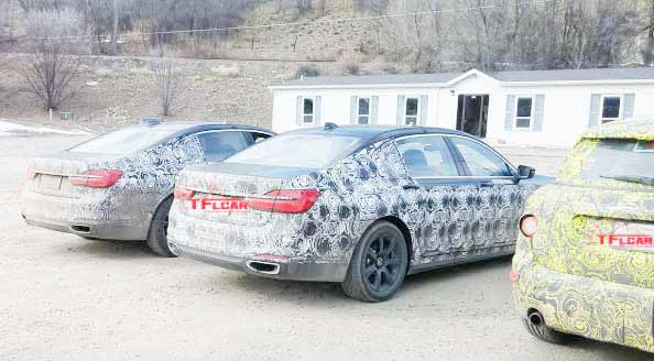 New BMW M760i and MINI Countryman testing in Colorado, US