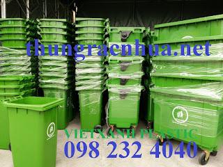 Thùng rác Nhựa Việt Xanh