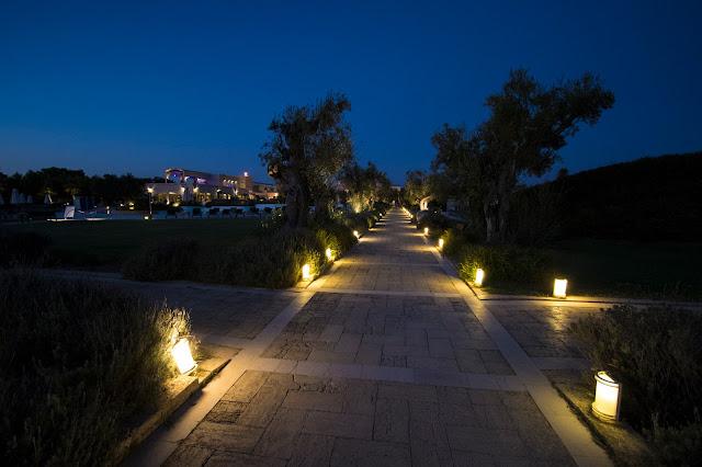 Viale con gli ulivi-Vivosa Apulia resort in Salento
