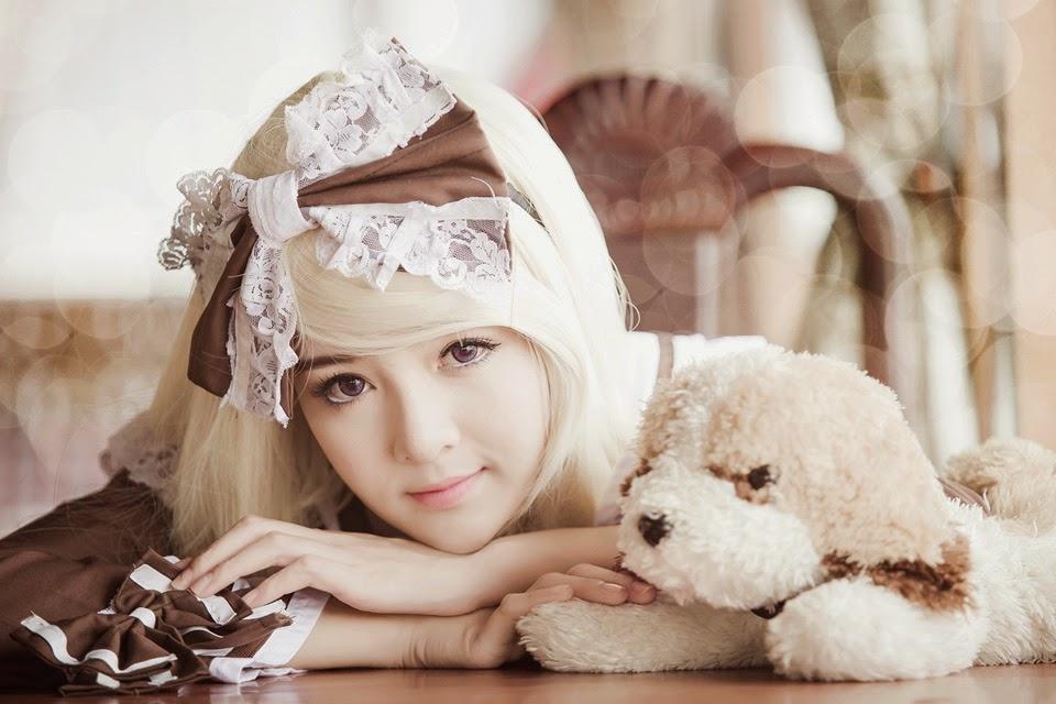 Hot girl Lily Luta đẹp với gương mặt búp bê