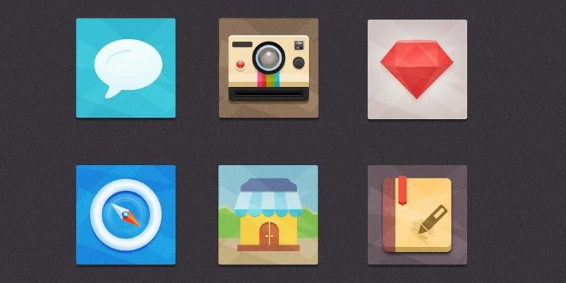 Flat Icons Freebie 2
