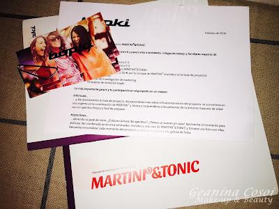 Proyecto Martini&Tonic - Colaboración con Bopki