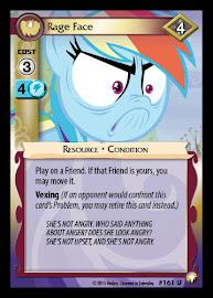 My Little Pony Rage Face Equestrian Odysseys CCG Card