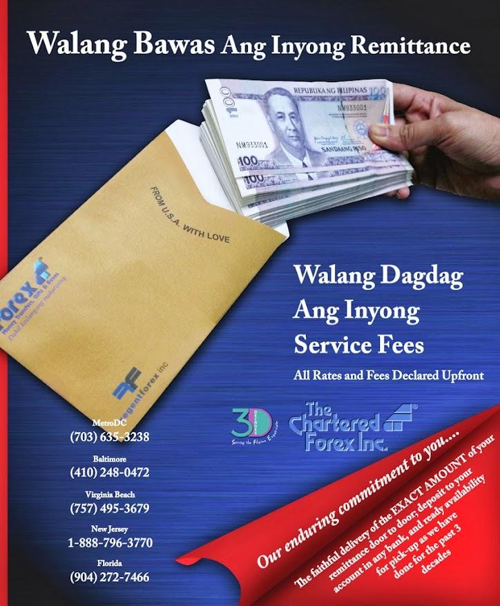 Forex Remittance Walang Bawas Ang Inyong Padala
