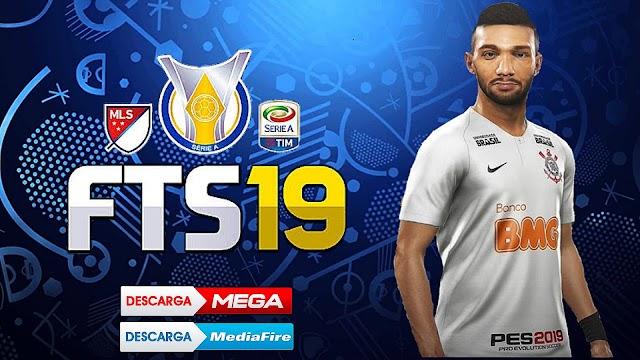 Baixe Já!! Fts 19 Atualizado Brasileirão e Europeu - Kits 19/20 (Android)